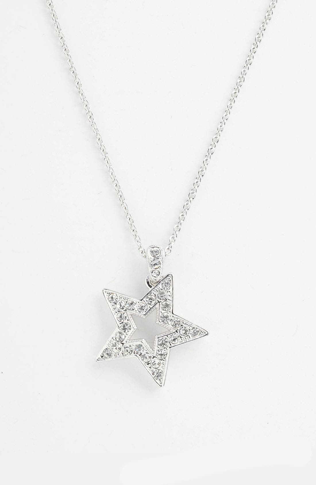 Alternate Image 1 Selected - Nadri Boxed Star Pendant Necklace (Nordstrom Exclusive)