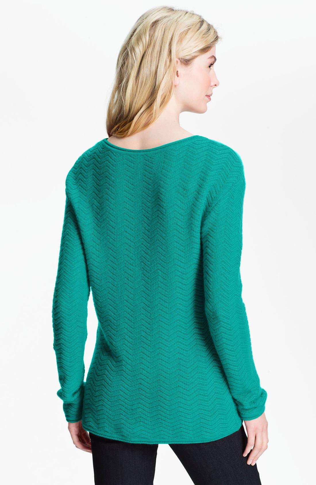 Alternate Image 2  - Amber Sun 'Flora' Tunic Sweater