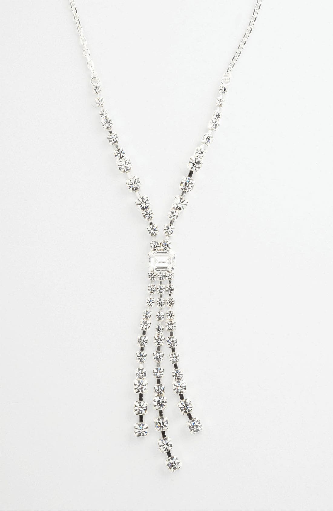 Main Image - Rosa Crystal Collection Jewelry Y-Necklace