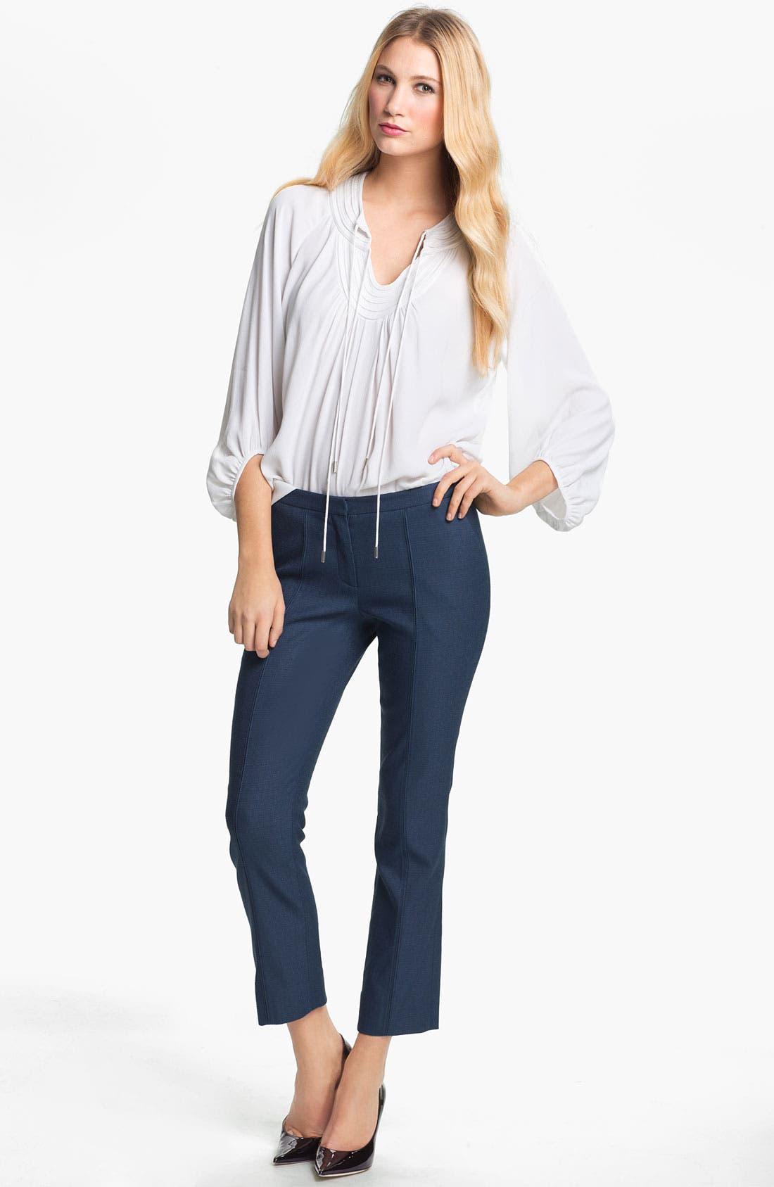 Alternate Image 4  - Diane von Furstenberg 'Aislin' Crop Pants