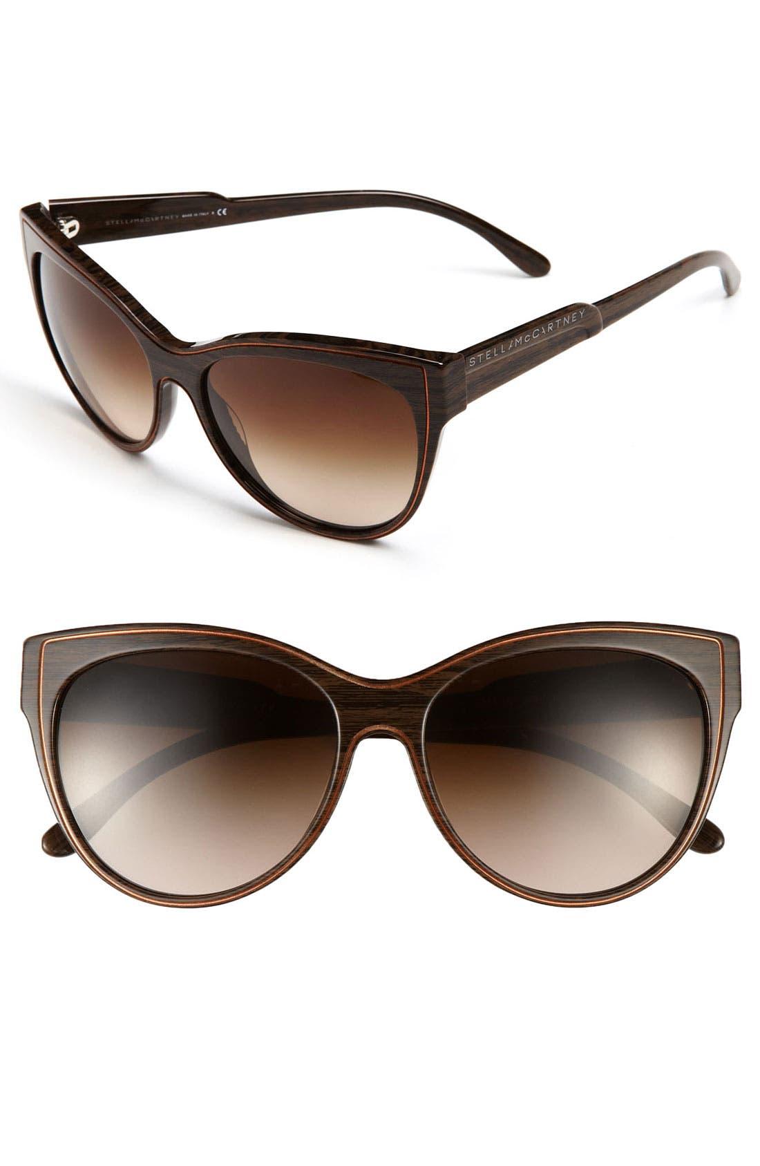 Main Image - Stella McCartney 44mm Retro Cat's Eye Sunglasses