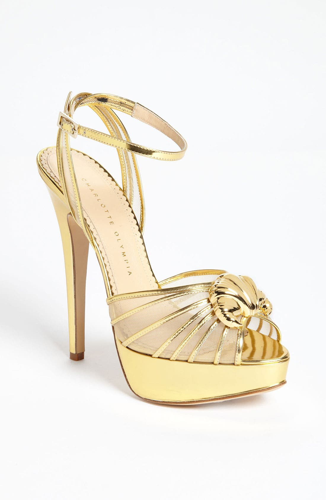 Alternate Image 1 Selected - Charlotte Olympia 'Croissant' Pump