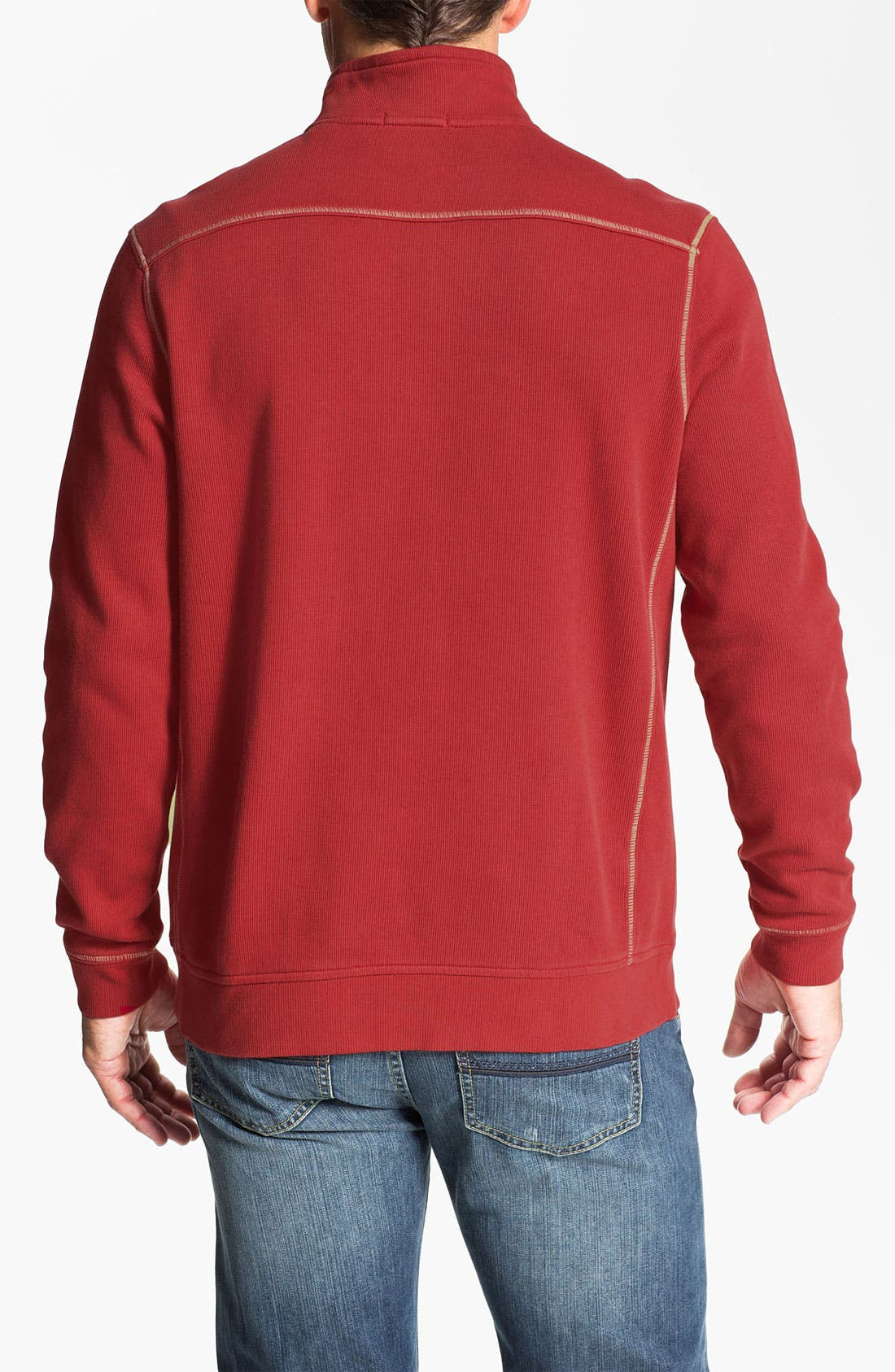 Alternate Image 2  - Tommy Bahama 'Antigua Cove' Half Zip Pullover