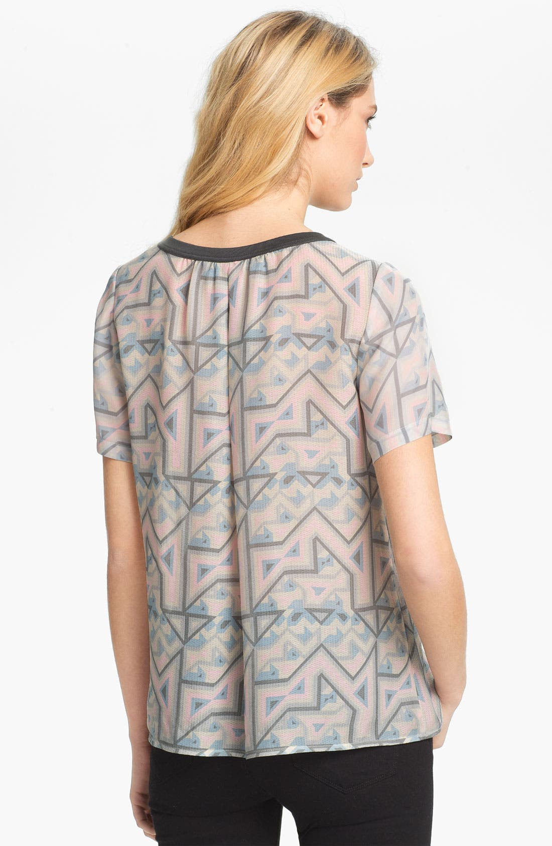 Alternate Image 2  - MARC BY MARC JACOBS 'Geo Maze' Print Top