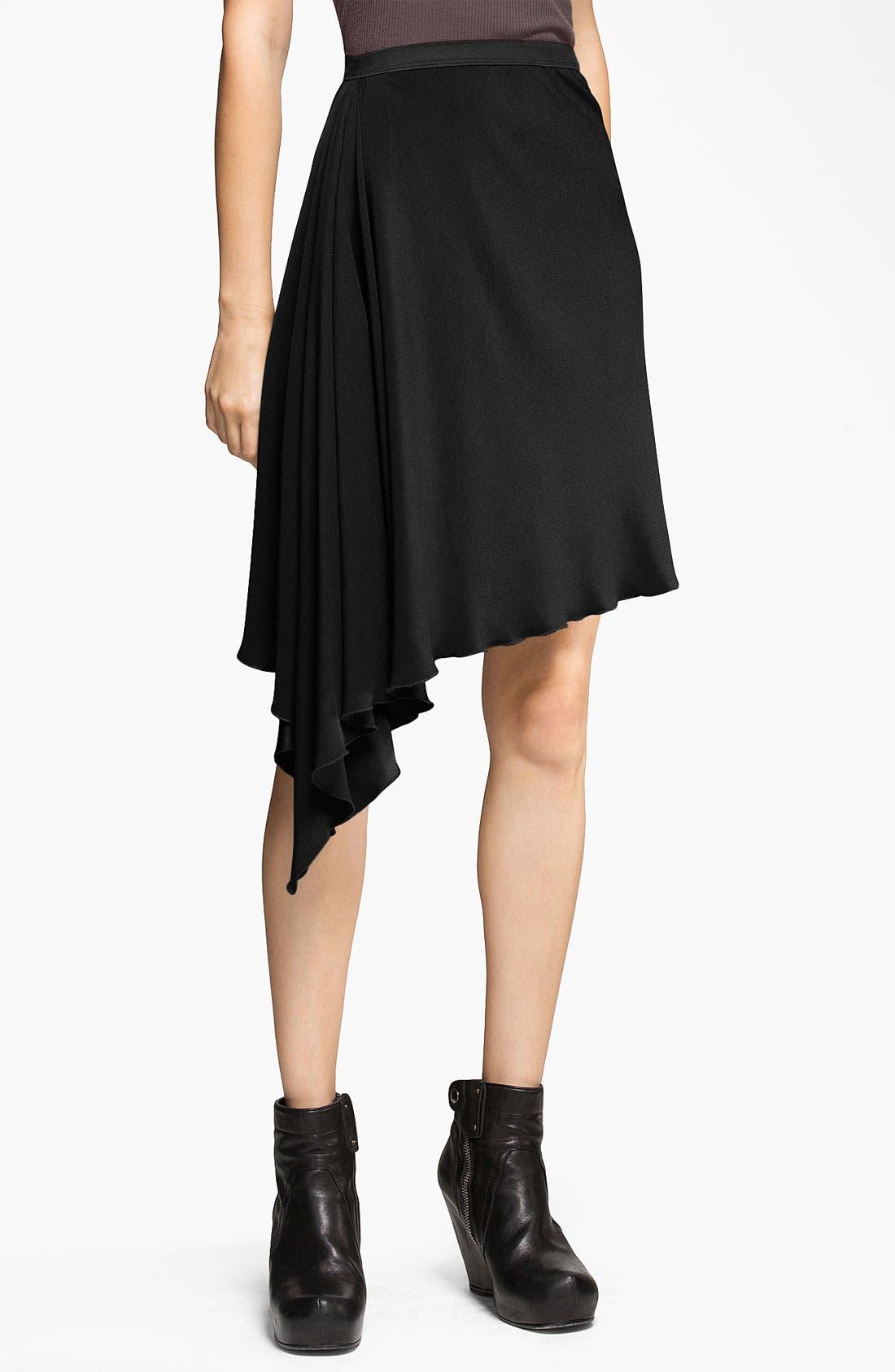 Main Image - Rick Owens Crepe Skirt