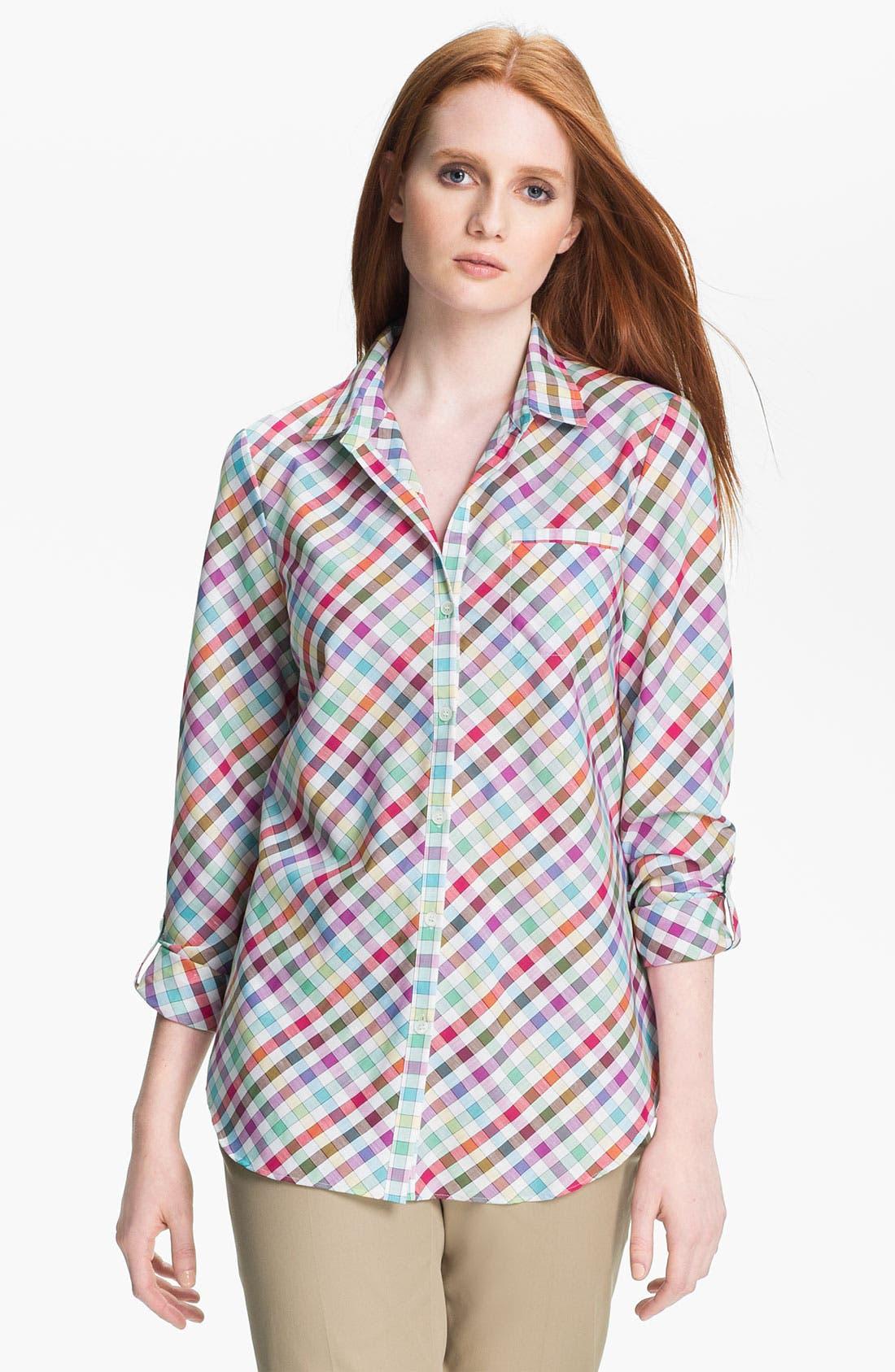 Alternate Image 1 Selected - Lafayette 148 New York 'Felice' Shirt