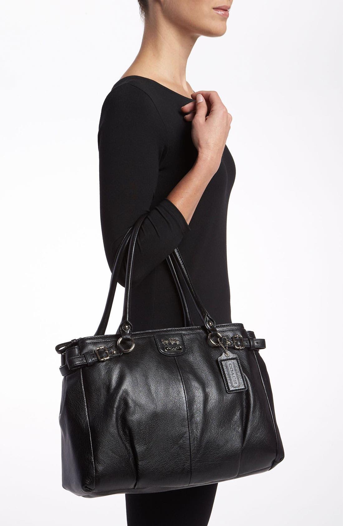Alternate Image 2  - COACH 'Madison - Kara' Leather Carryall