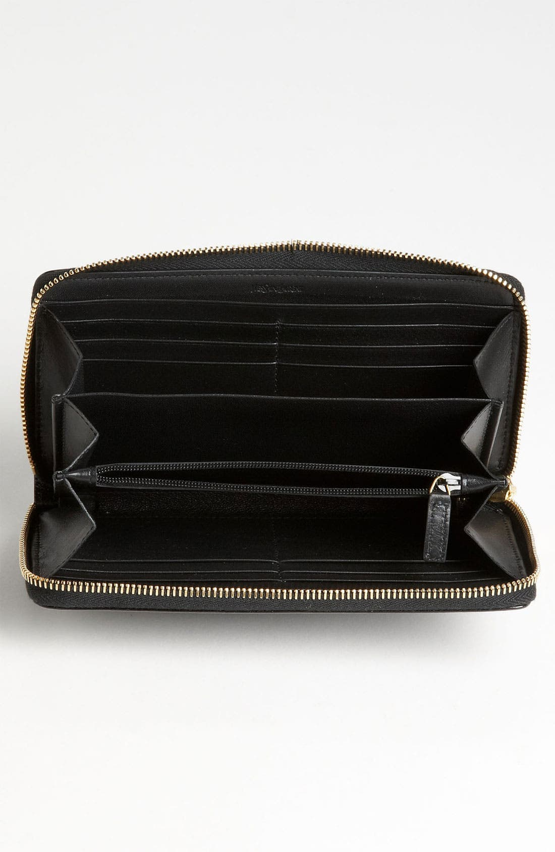 Alternate Image 3  - Saint Laurent 'Belle de Jour' Leather Wallet