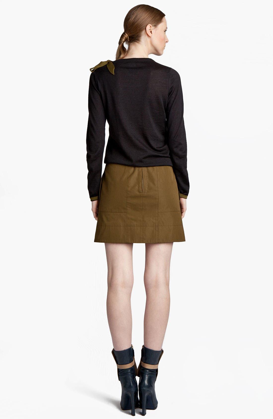 Alternate Image 4  - Jil Sander Bow Detail Cashmere & Silk Sweater