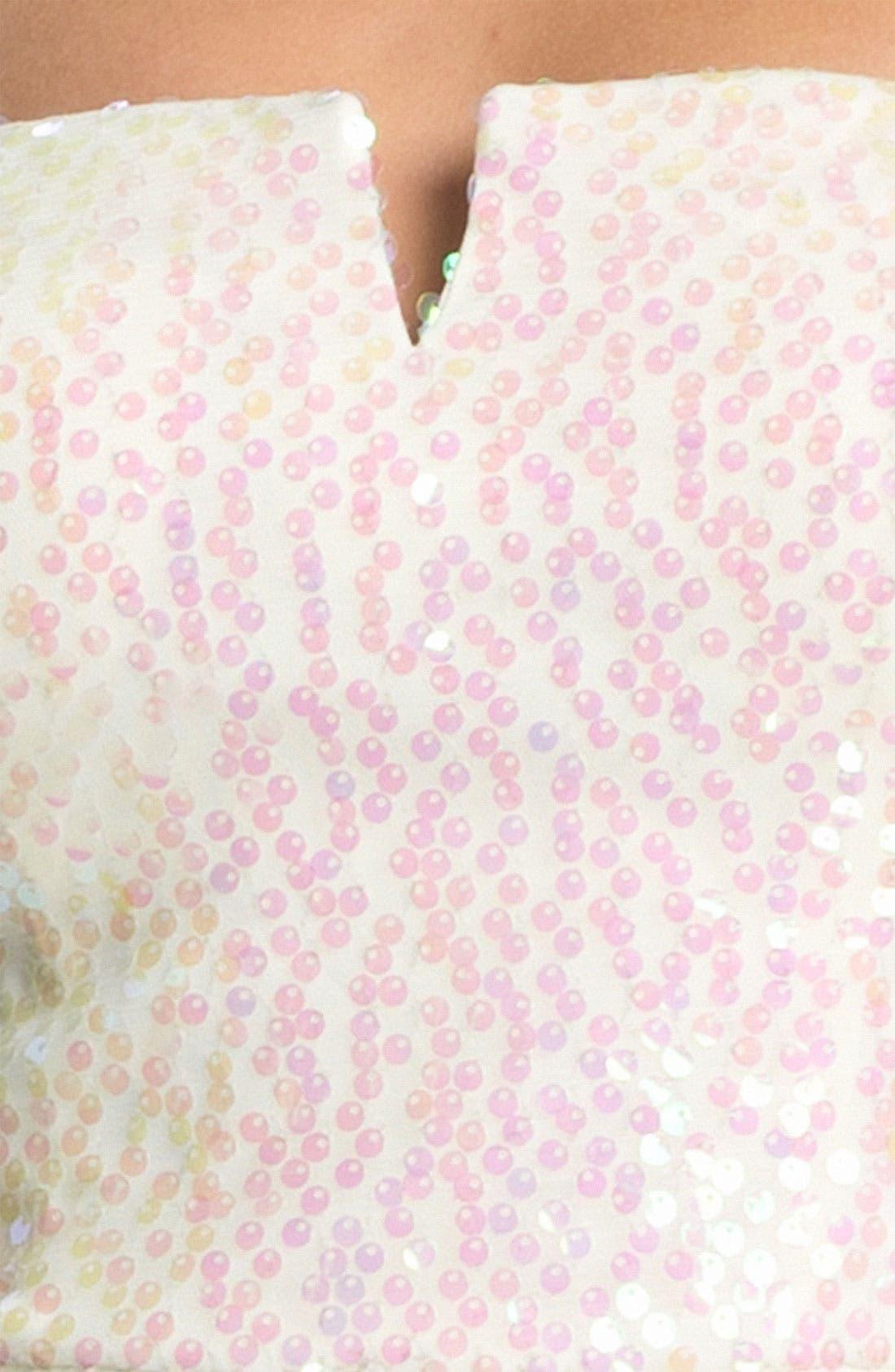 Alternate Image 3  - As U Wish Embellished High/Low Dress (Juniors)