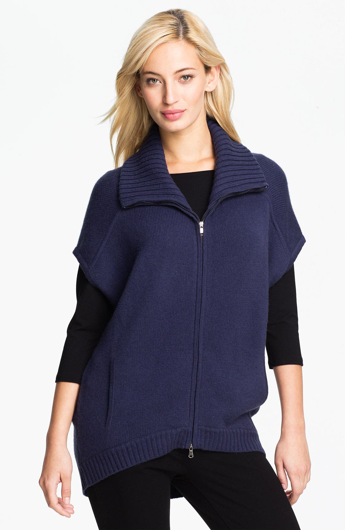 Main Image - Christopher Fischer 'Hyacinth' Cashmere Sweater Jacket (Online Exclusive)
