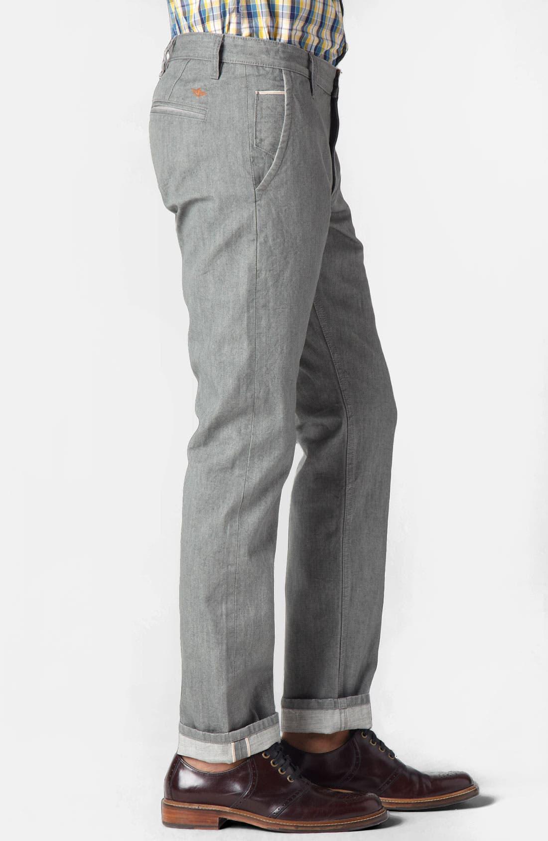 Alternate Image 3  - Dockers® 'Alpha Khaki - Selvedge' Slim Straight Leg Pants (Online Exclusive)