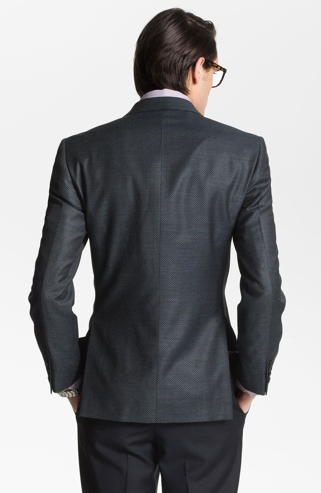 Alternate Image 2  - Joseph Abboud 'Signature Silver' Wool Blend Blazer