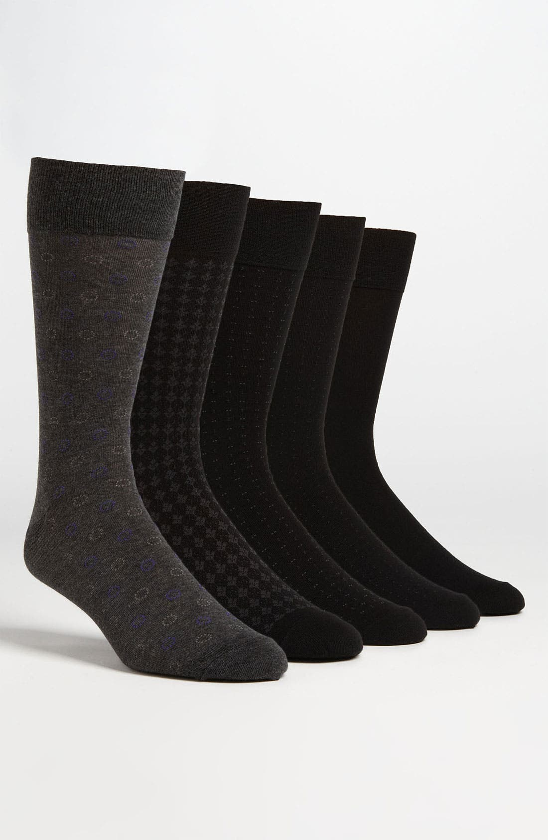 Alternate Image 1 Selected - Cole Haan Assorted Socks (5-Pack)