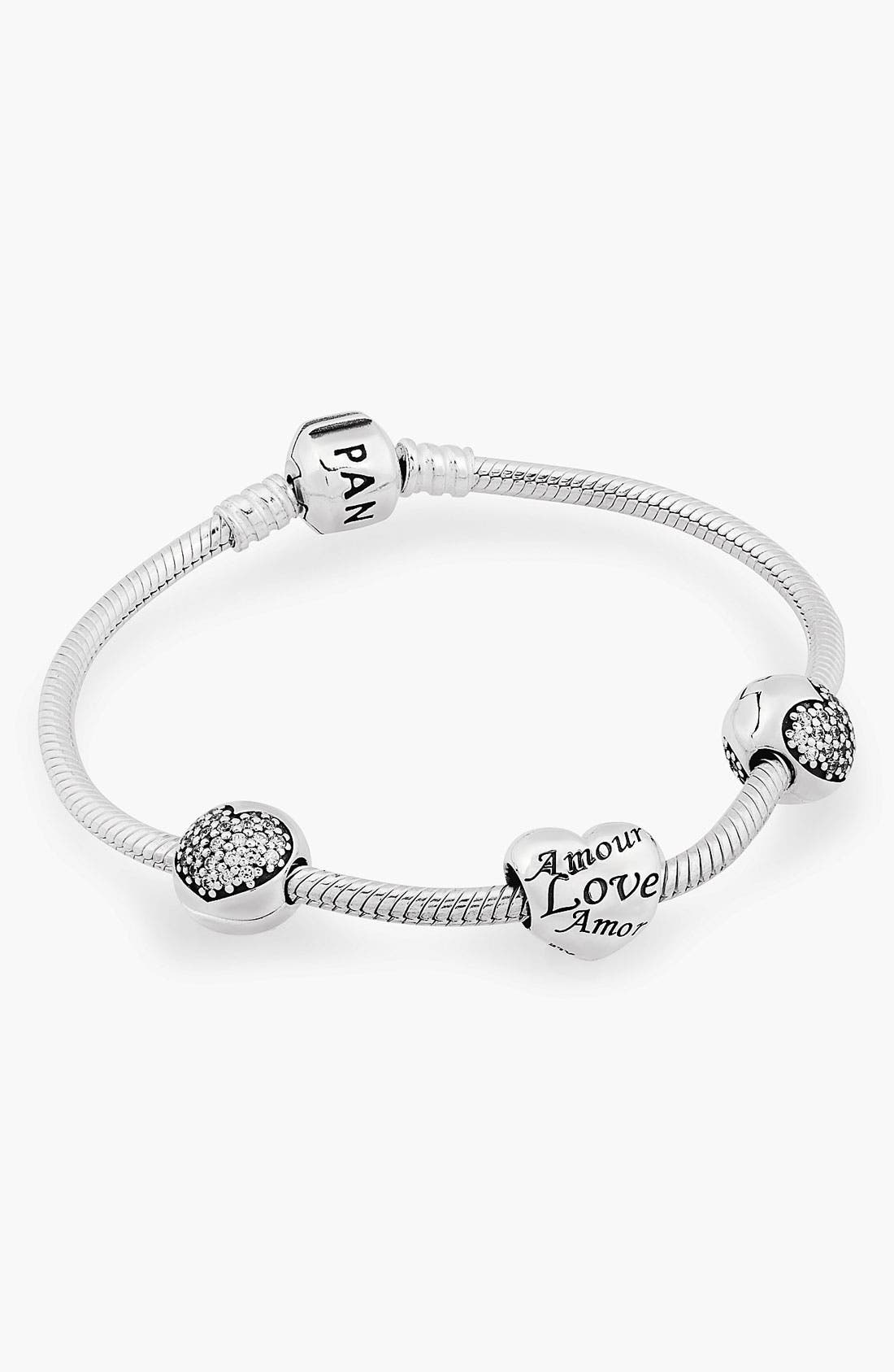 Alternate Image 1 Selected - LOVE OF MY LIFE BRACELET GIFT SET