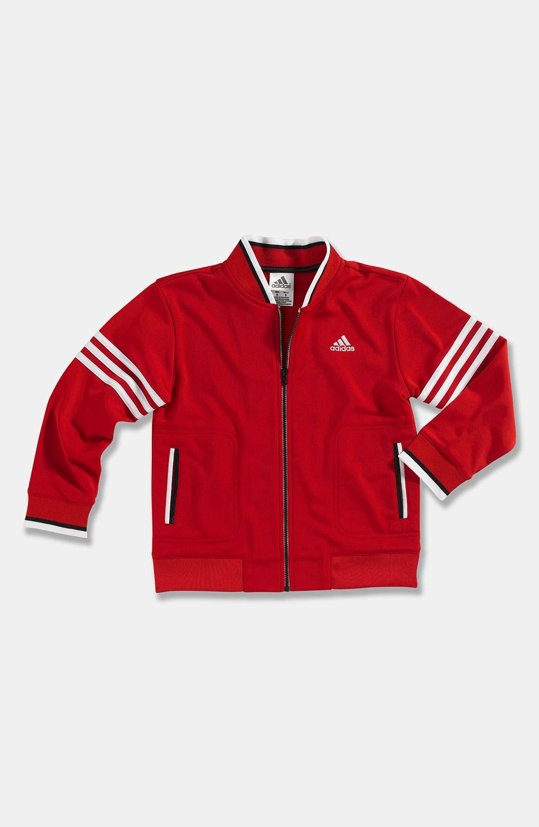 Alternate Image 1 Selected - adidas 'Team' Jacket (Little Boys)