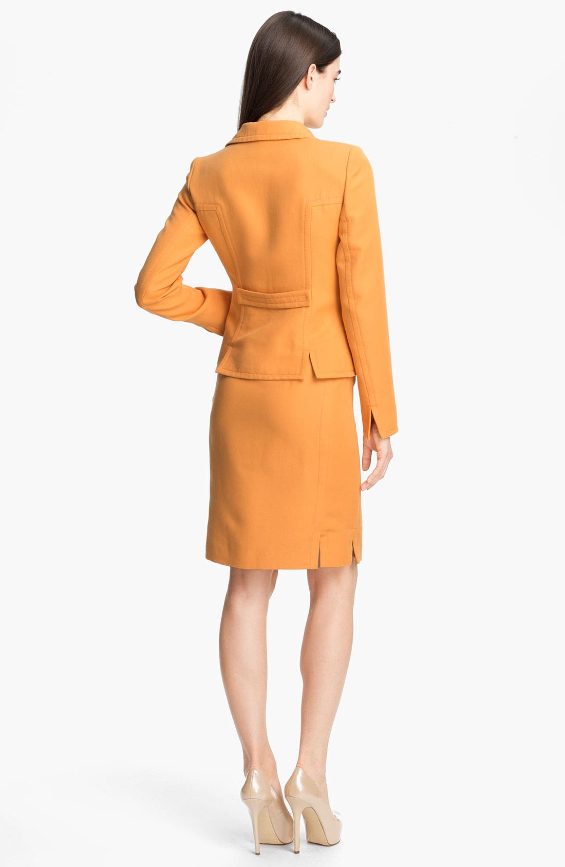 Alternate Image 5  - Lafayette 148 New York 'Sofia - Retro Cloth' Skirt