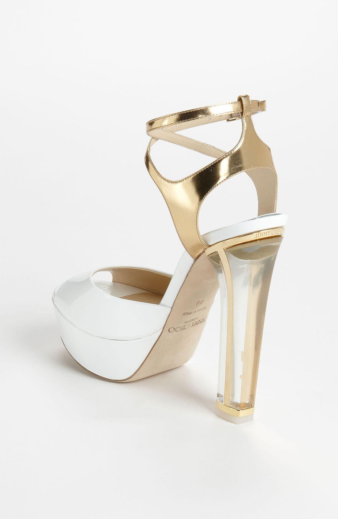 Alternate Image 2  - Jimmy Choo 'Lolita' Platform Sandal