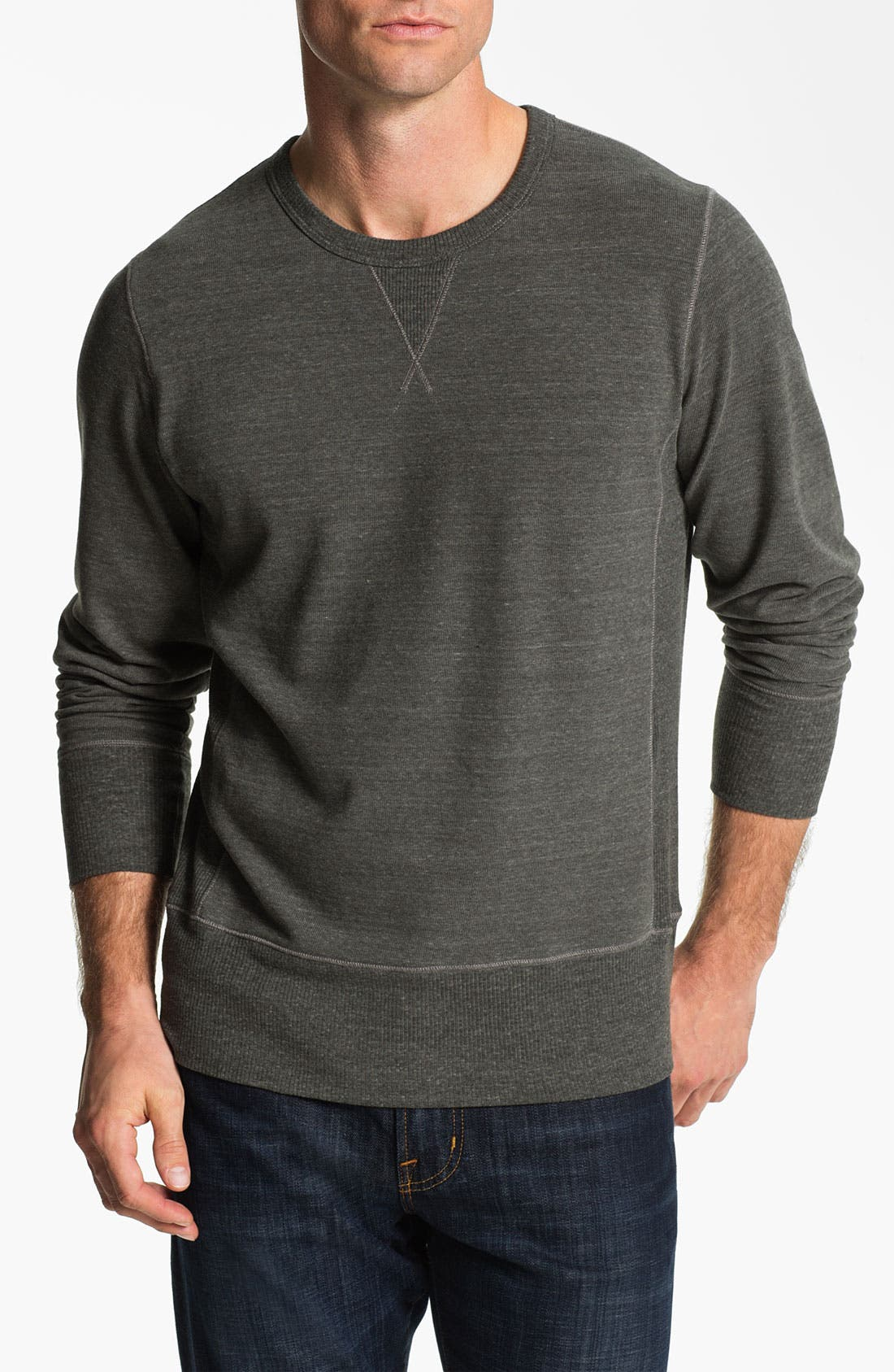 Alternate Image 1 Selected - AG Jeans Crewneck Pullover