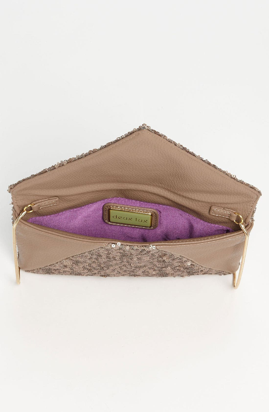 Alternate Image 3  - Deux Lux 'Anais' Envelope Clutch