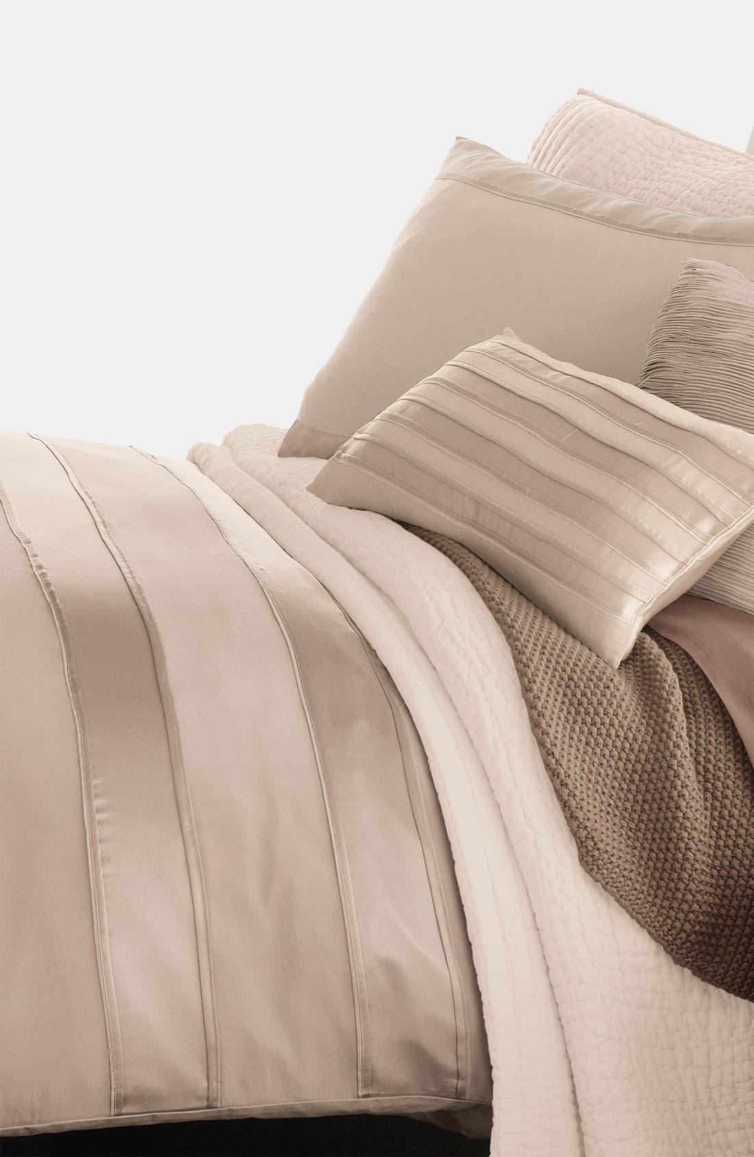 Main Image - Donna Karan 'Lustre Seam' Duvet Cover