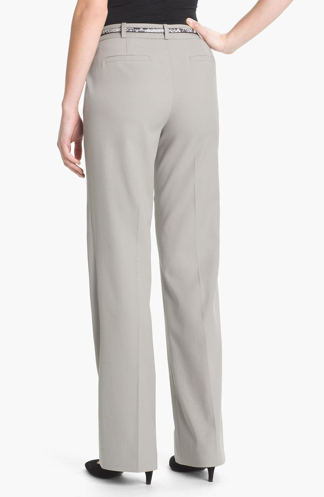 Alternate Image 2  - Classiques Entier® Stretch Wool Twill Pants