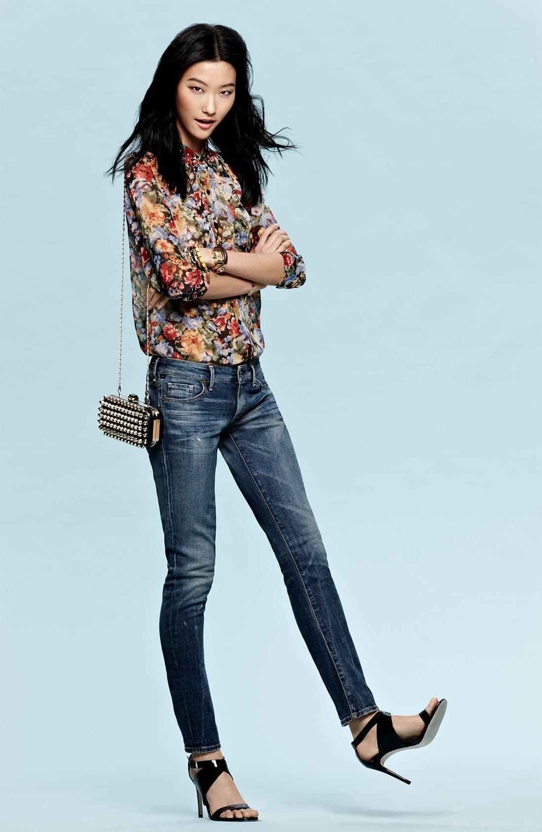 Alternate Image 6  - Natasha Couture Studded Clutch