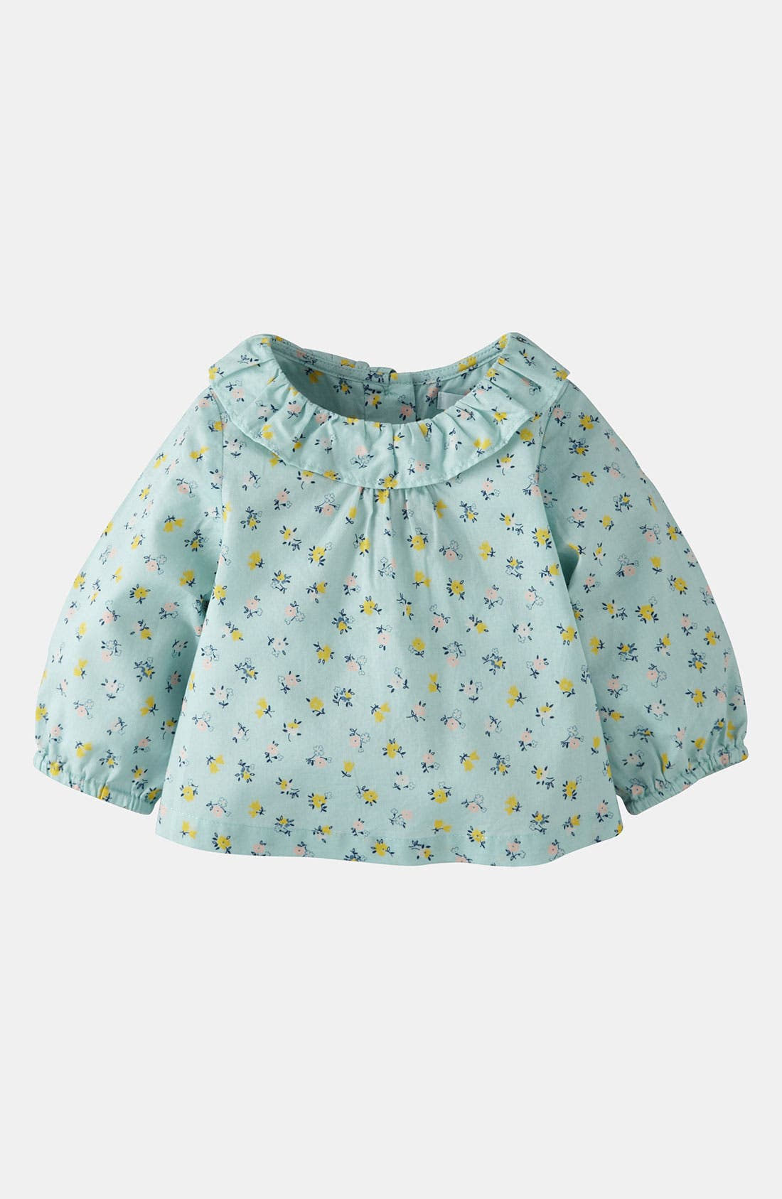 Main Image - Mini Boden 'Pretty' Woven Top (Baby)