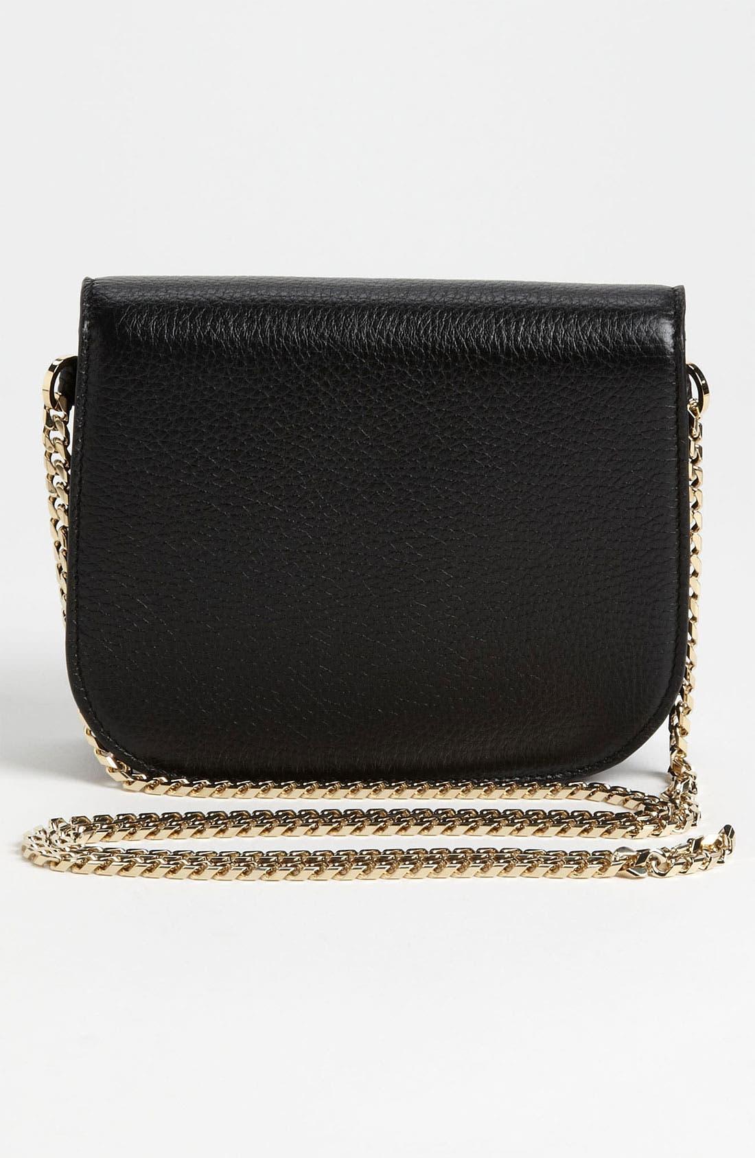 Alternate Image 4  - Jimmy Choo 'Shadow' Pearlized Leather Crossbody Bag