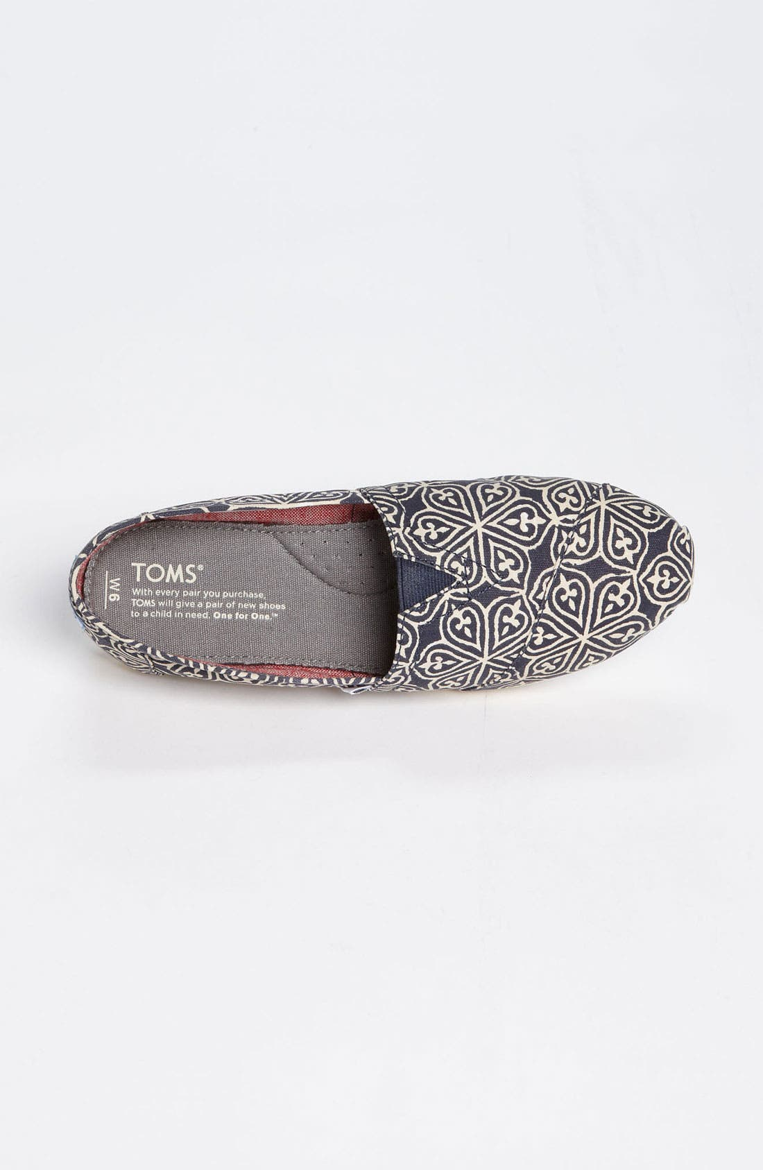 Alternate Image 3  - TOMS 'Classic - Circle' Slip-On (Women)