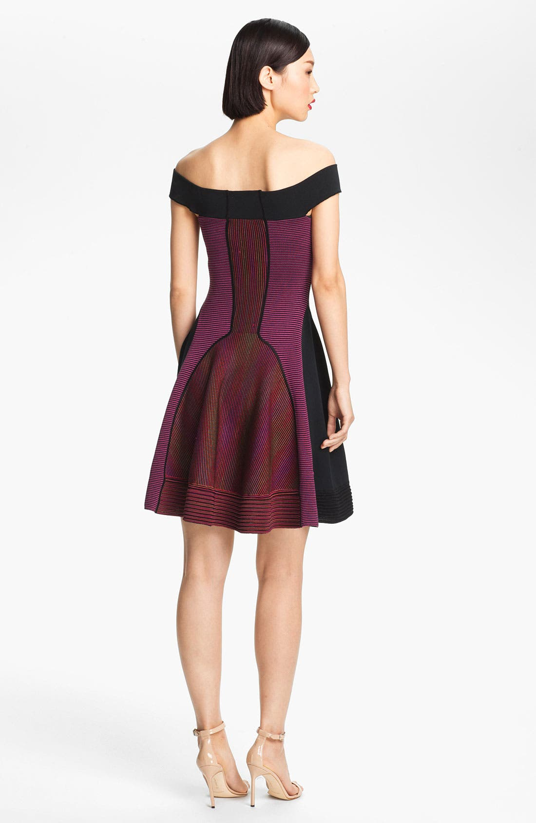 Alternate Image 2  - M Missoni Off Shoulder Knit Dress