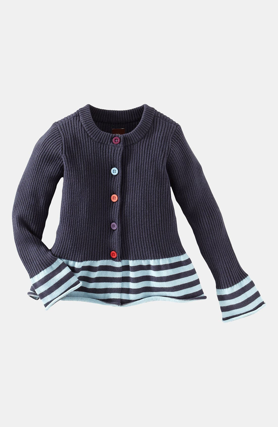 Alternate Image 1 Selected - Tea Collection 'Bongani' Stripe Sweater (Little Girls & Big Girls)
