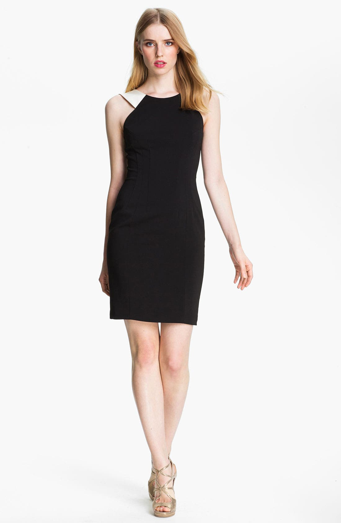 Alternate Image 1 Selected - Jay Godfrey 'Spencer' Crepe Sheath Dress