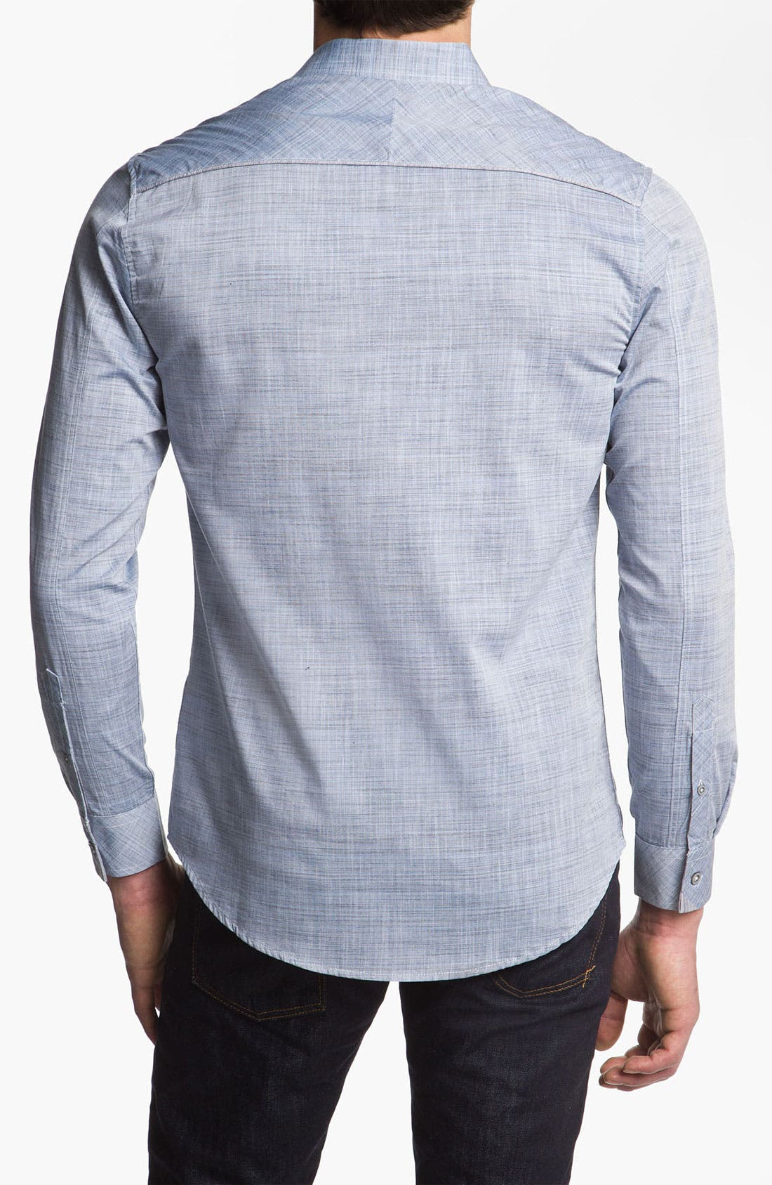 Alternate Image 2  - 7 Diamonds 'The Other Side' Woven Sport Shirt