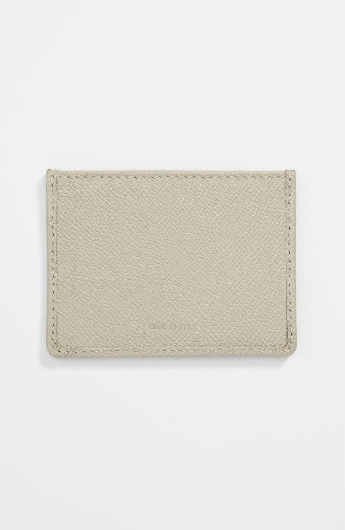 Alternate Image 2  - Burberry Leather Card Case