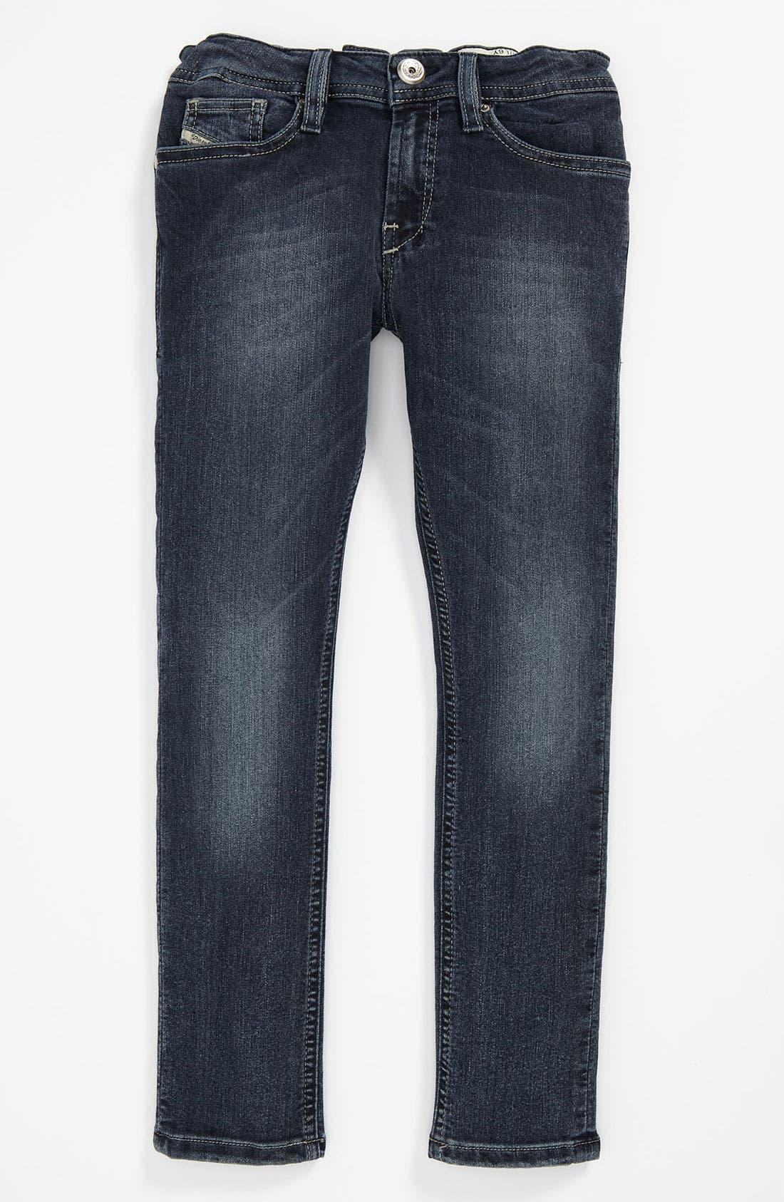 Alternate Image 2  - DIESEL® 'Shioner' Jeans (Little Boys & Big Boys)
