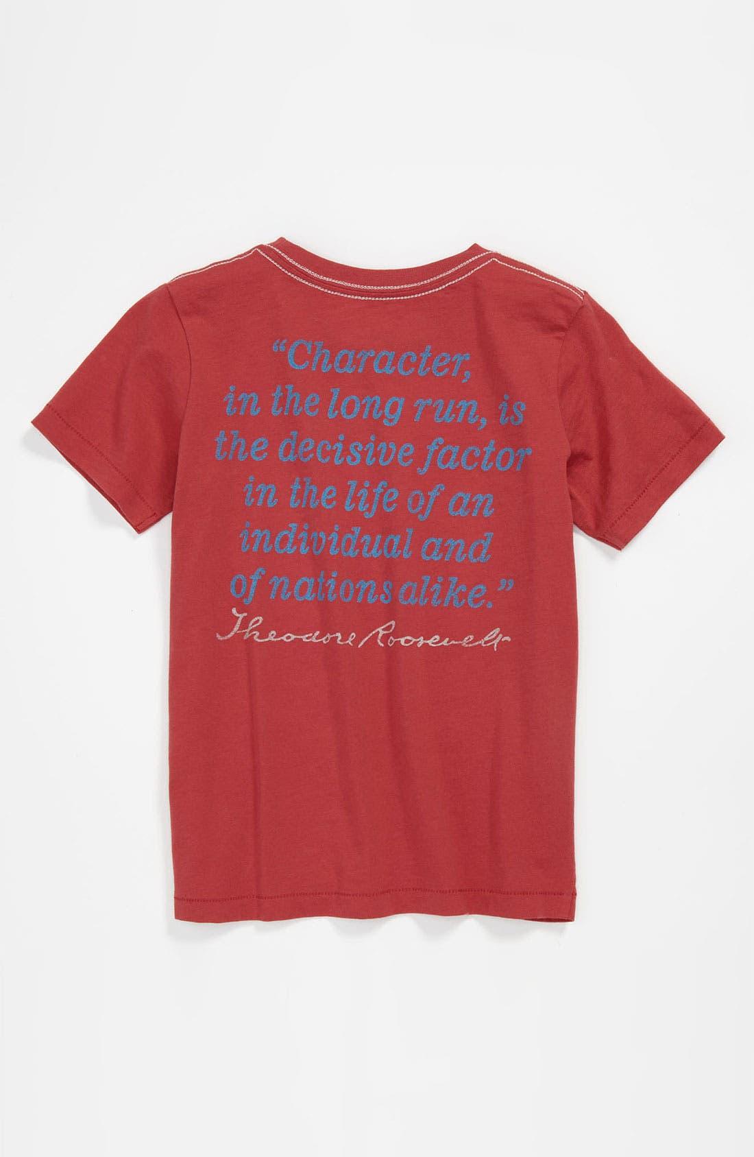 Alternate Image 2  - Peek 'Roosevelt' T-Shirt (Little Boys & Big Boys)