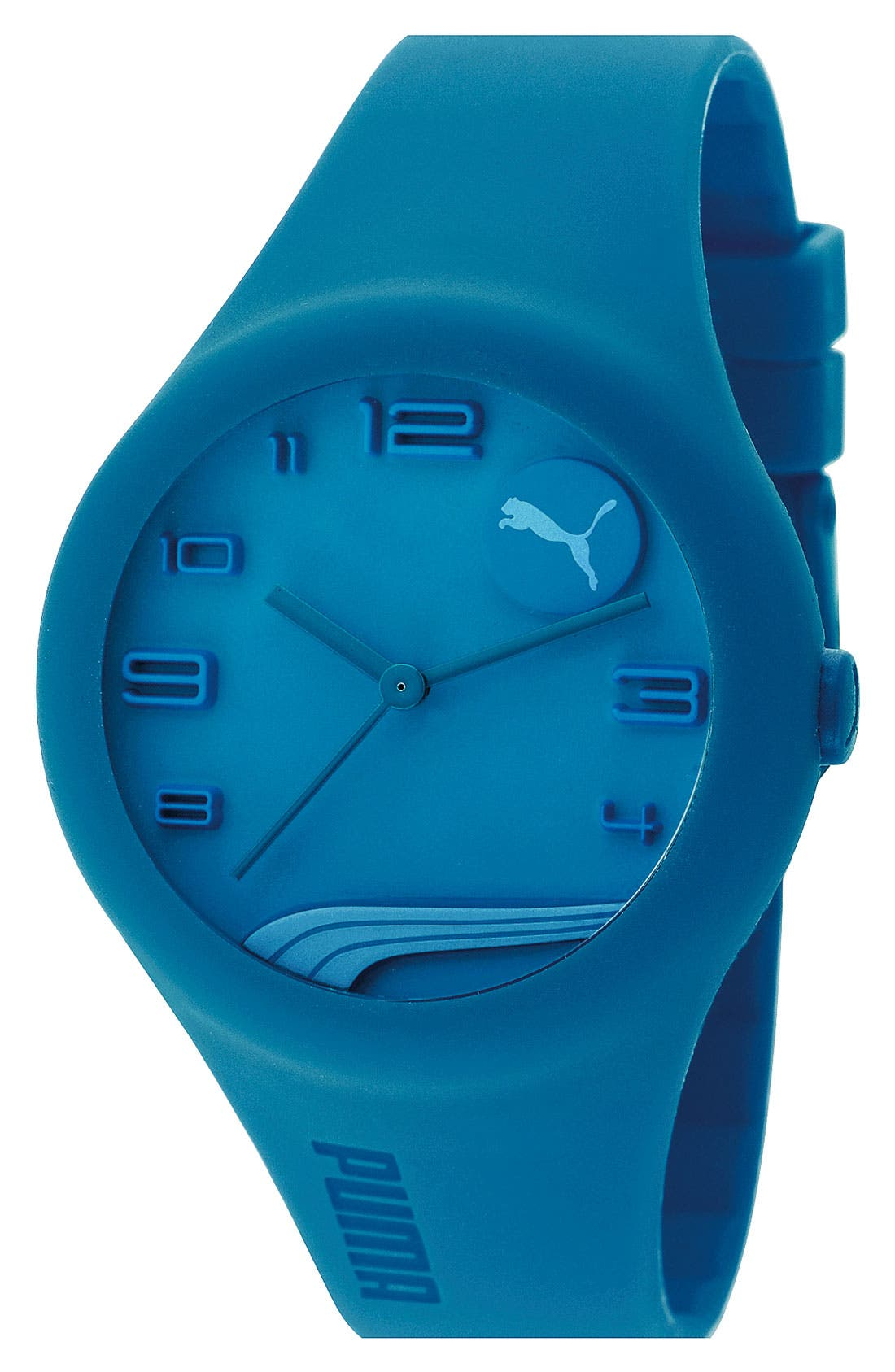 Main Image - PUMA 'Form' Silicone Watch, 44mm