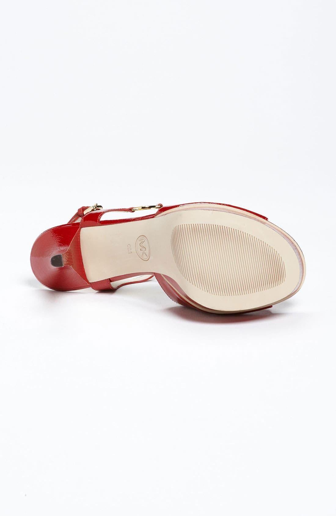 Alternate Image 4  - MICHAEL Michael Kors 'Brayson' Sandal