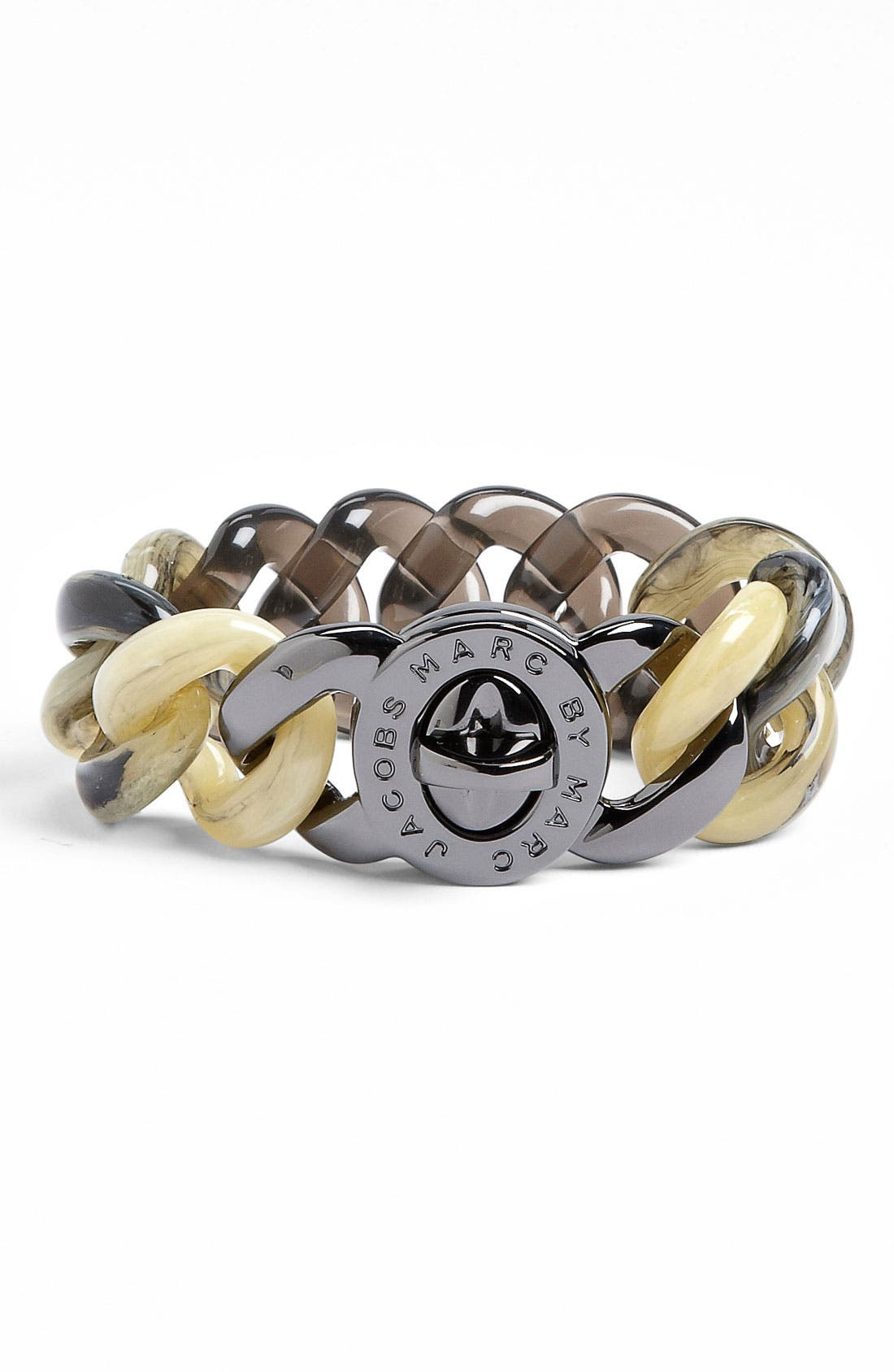 Alternate Image 1 Selected - MARC BY MARC JACOBS 'Turnlock - Candy' Bracelet