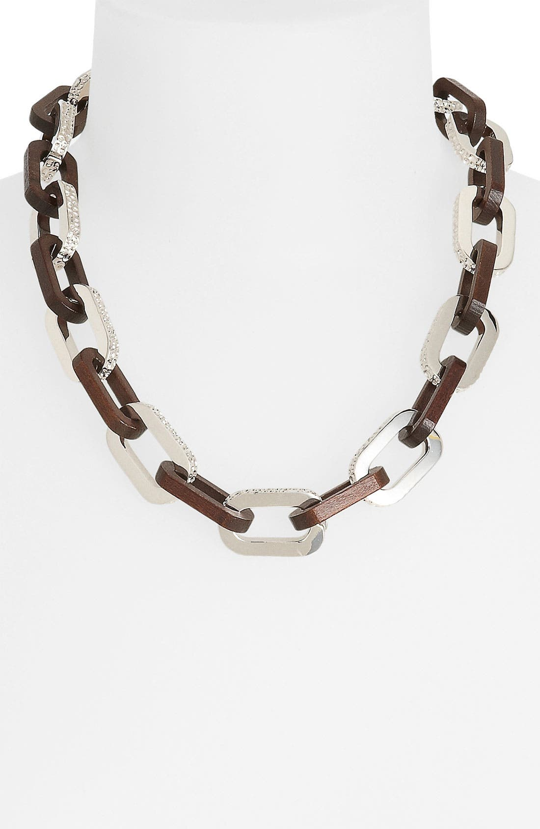 Alternate Image 1 Selected - MARC BY MARC JACOBS 'Articulated Zebra' Link Necklace