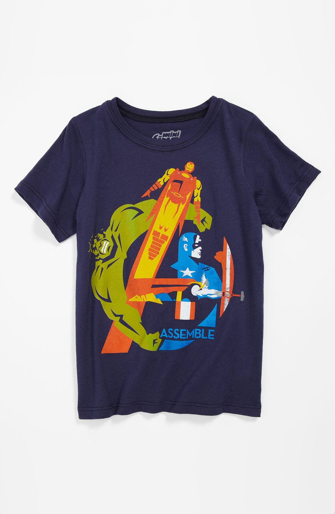 Main Image - Mighty Fine 'Assemble' T-Shirt (Little Boys)