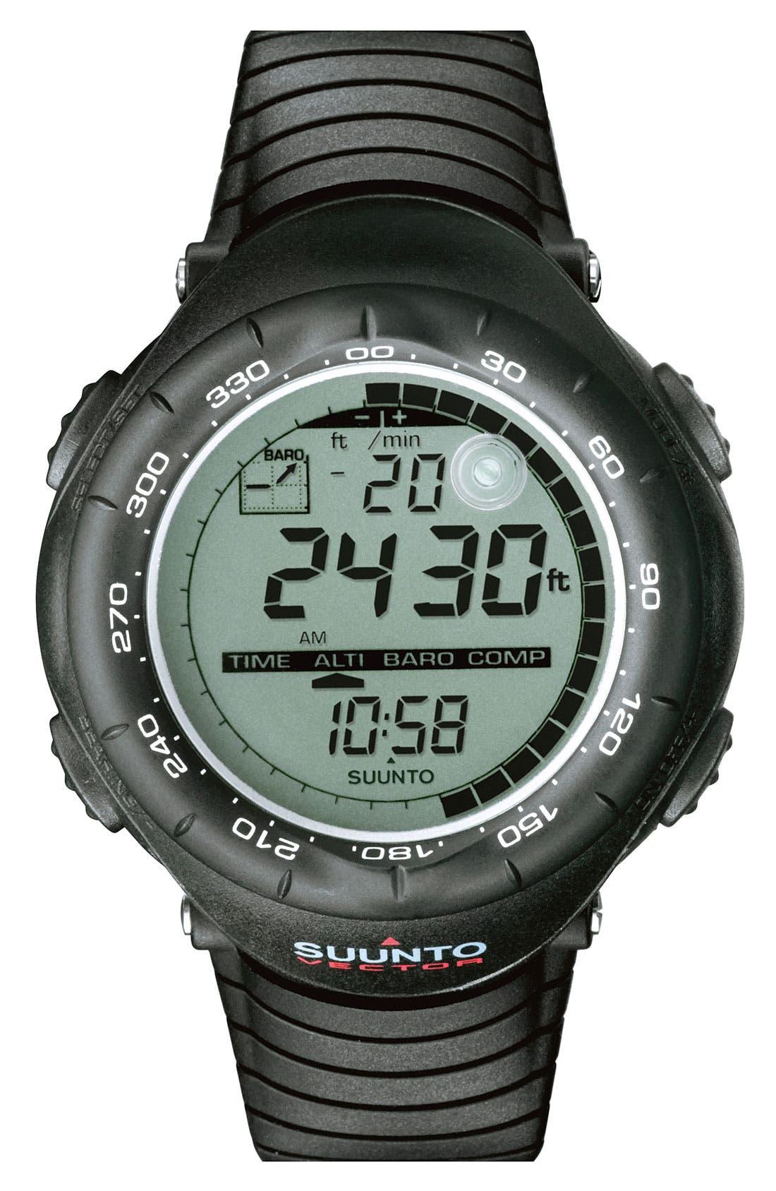 Alternate Image 1 Selected - Suunto 'Vector' Multifunction Watch, 52mm