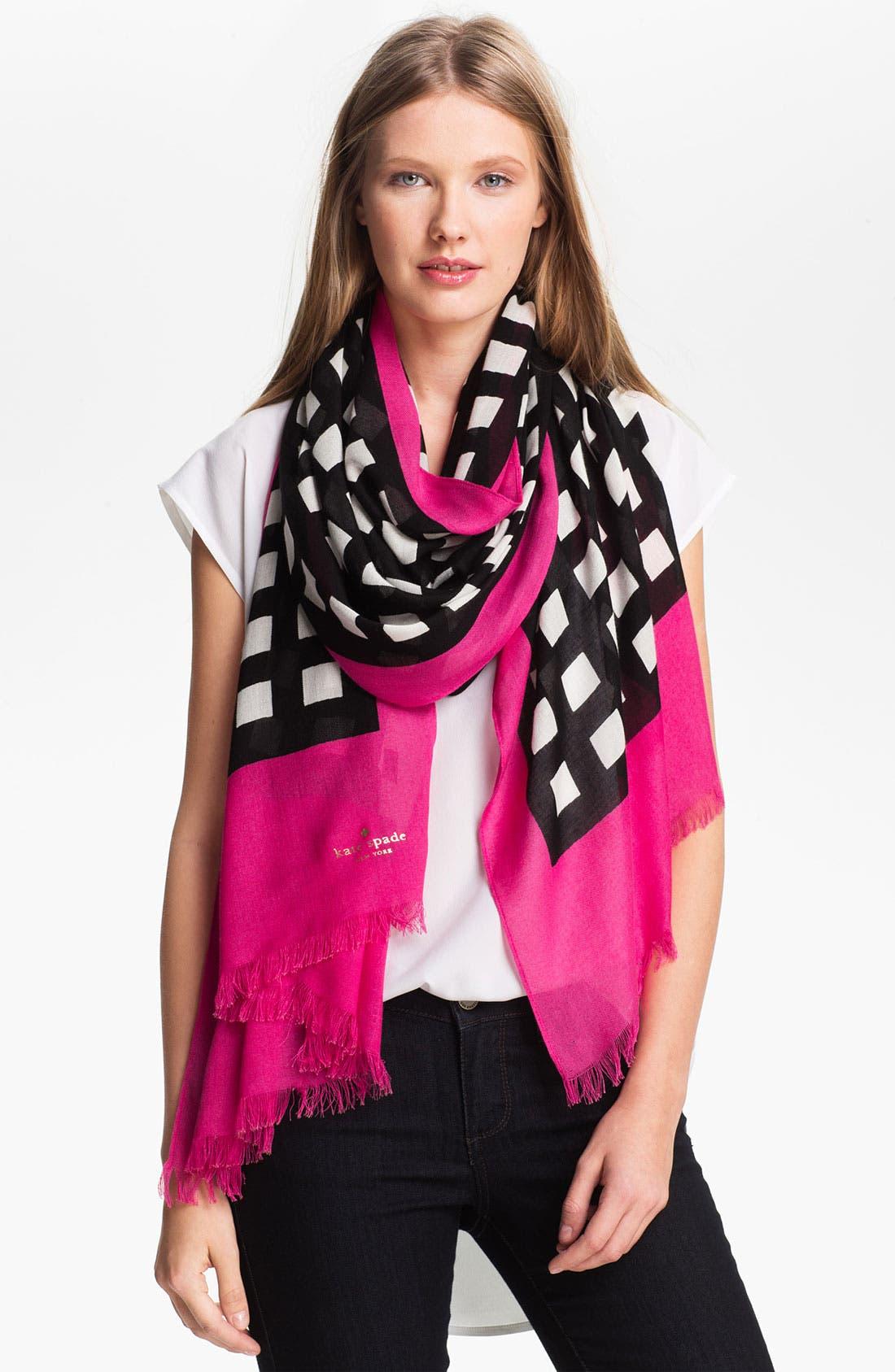 Alternate Image 1 Selected - kate spade new york 'pop art' scarf