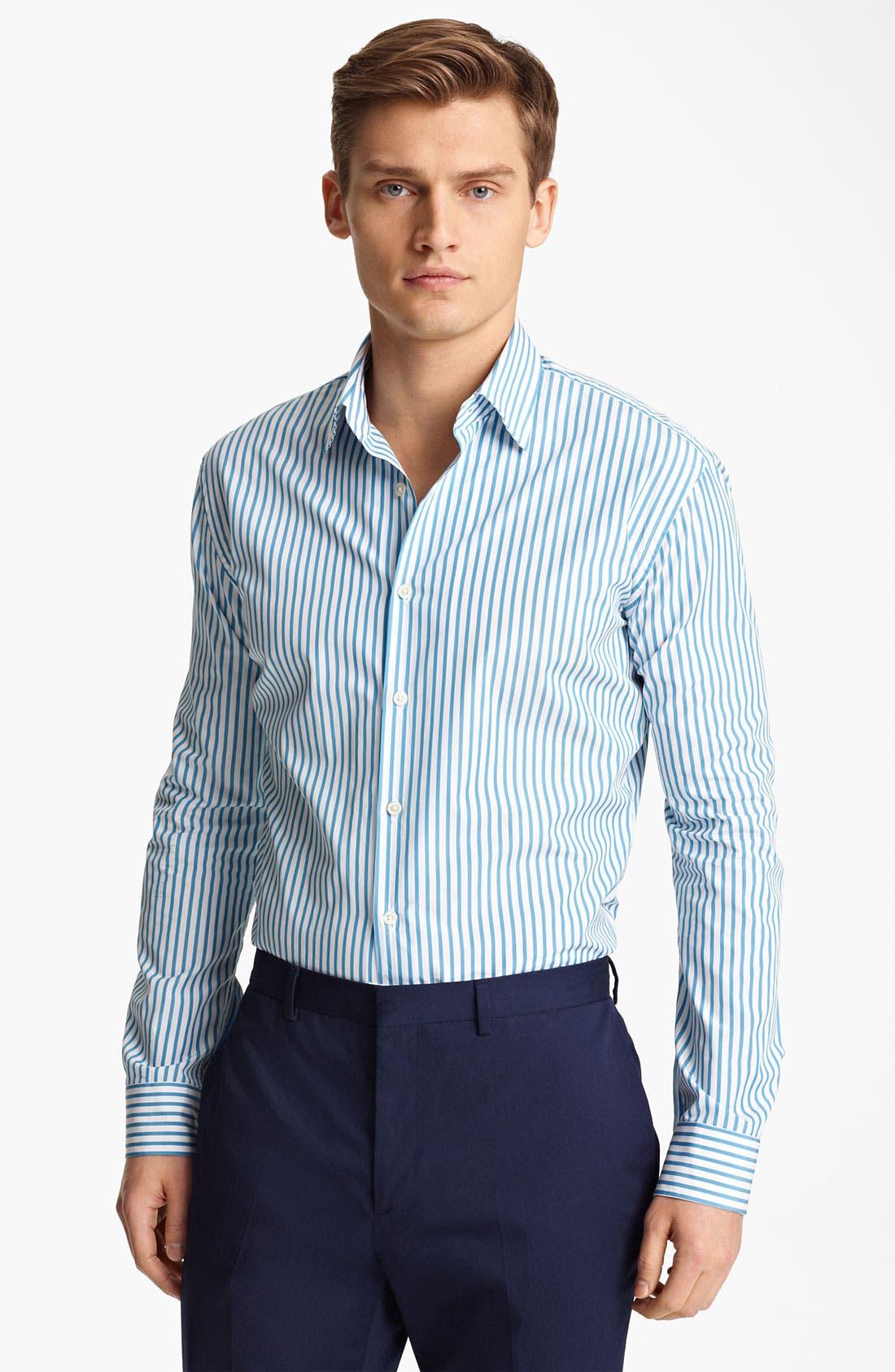 Main Image - Paul Smith London Candy Stripe Shirt