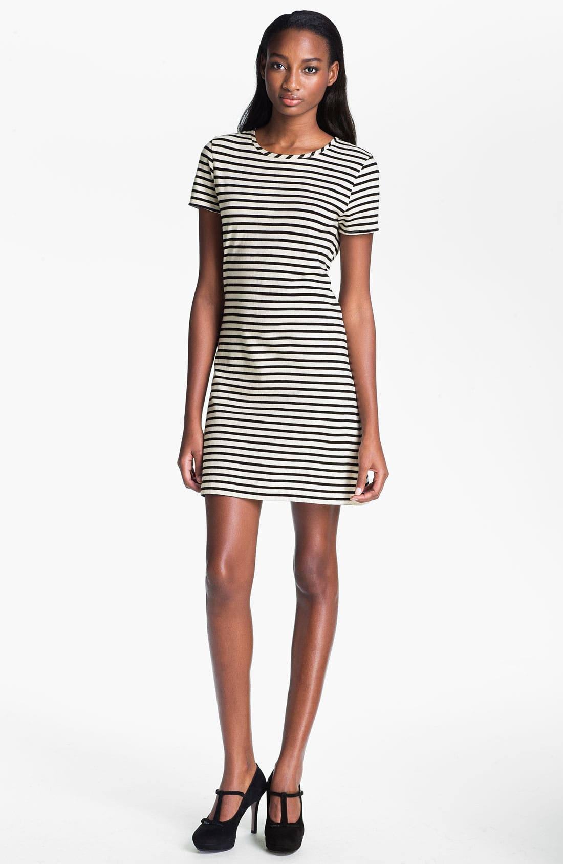Main Image - Skaist-Taylor Stripe Cotton T-Shirt Dress