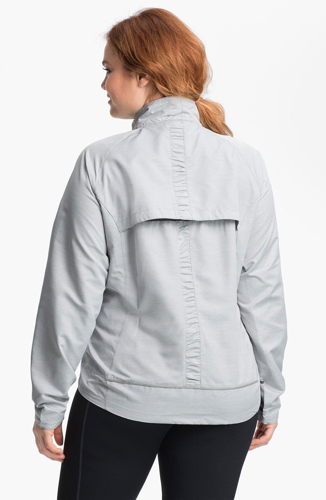 Alternate Image 2  - Moving Comfort 'Sprint' Jacket (Plus Size)