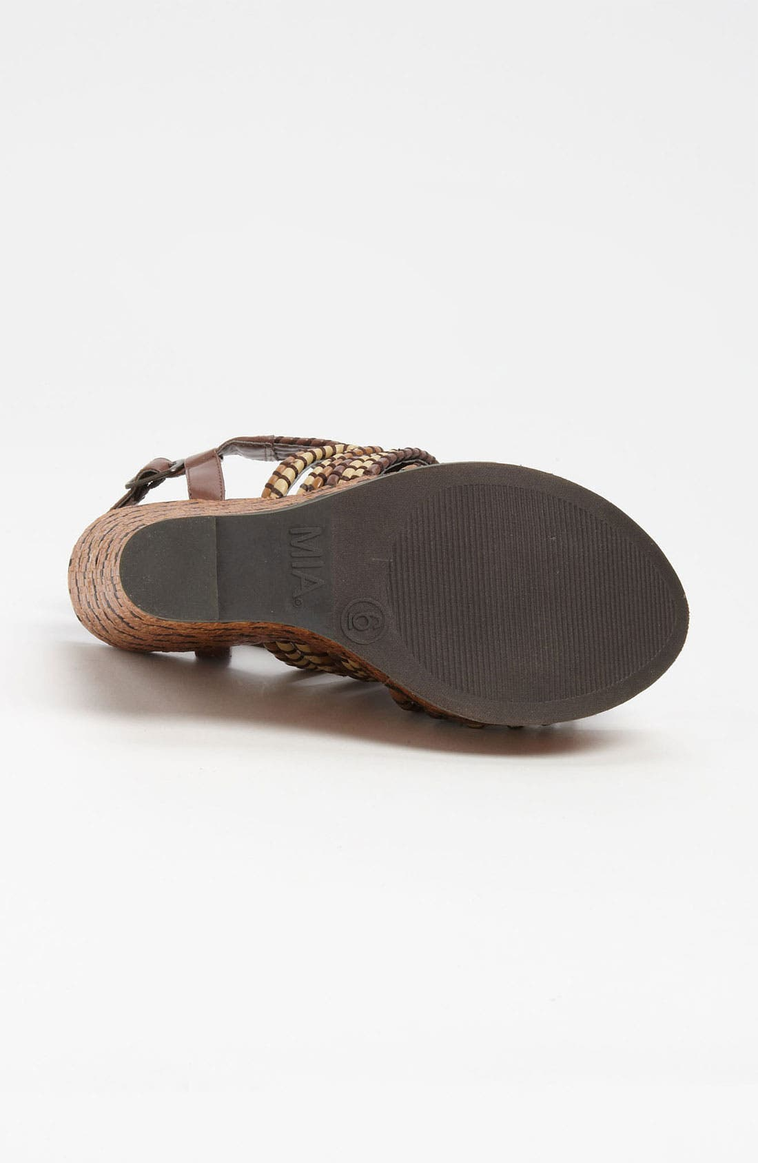 Alternate Image 4  - MIA 'Evelyn' Wedge Sandal