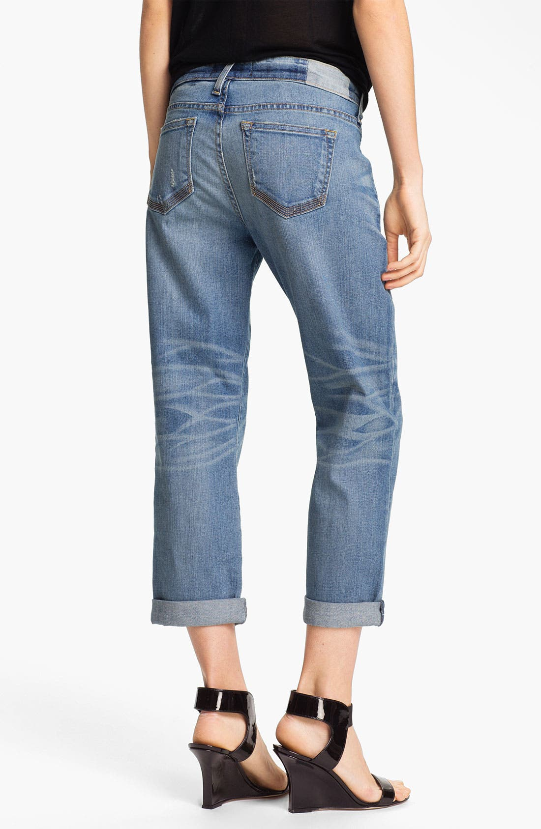 Alternate Image 2  - TEXTILE Elizabeth and James 'Bennett' Boyfriend Jeans