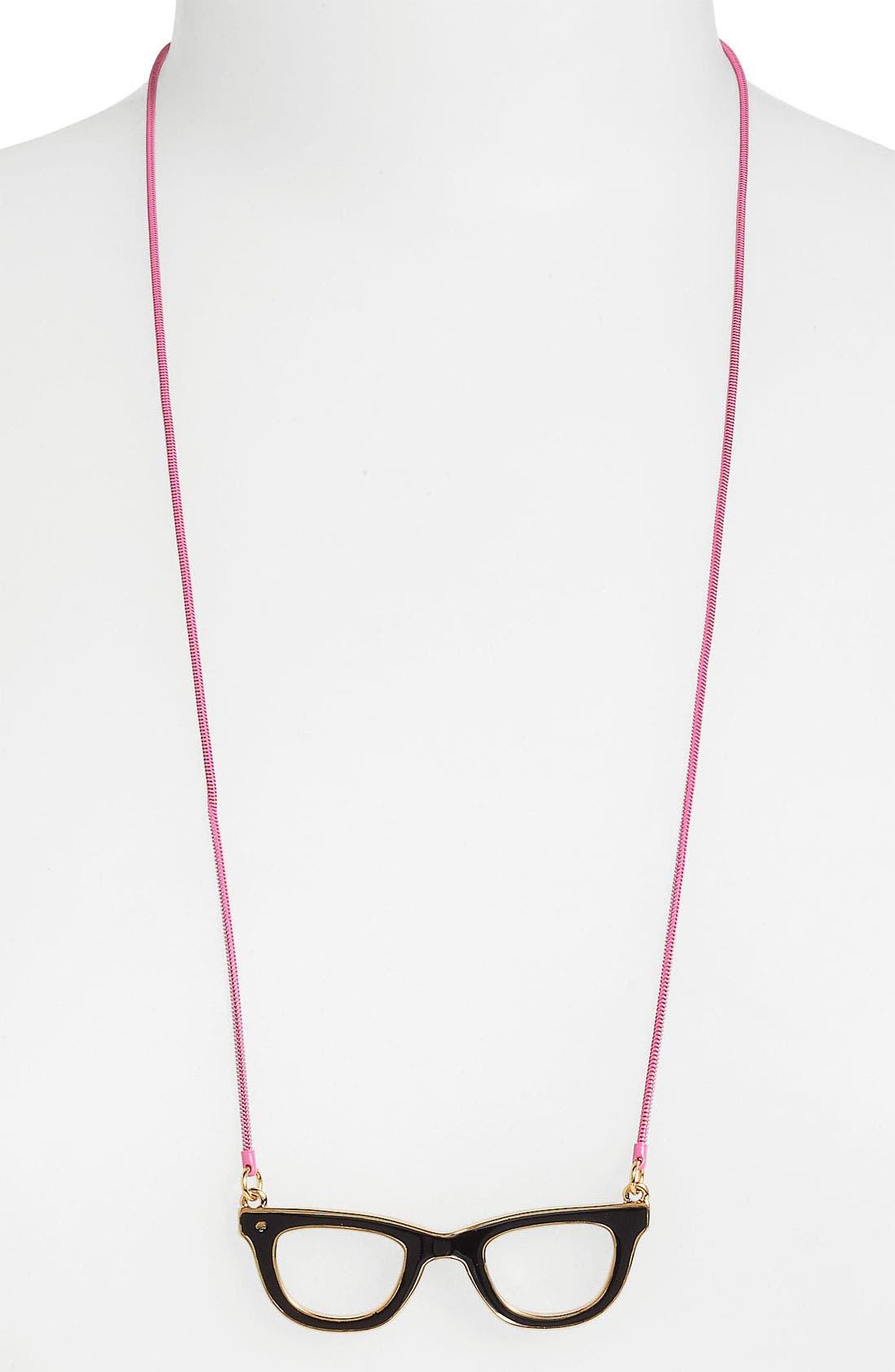 Alternate Image 1 Selected - kate spade new york 'goreski' reversible pendant necklace